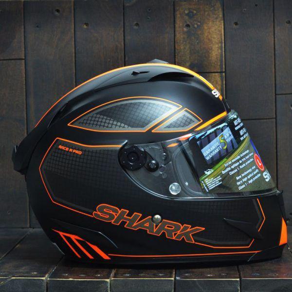 Mũ Bảo Hiểm Shark Race – R Pro Carbon Chaz Cam 3