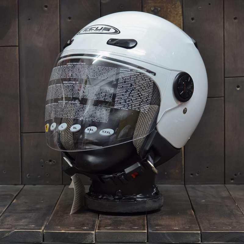 Mũ Bảo Hiểm Zeus 210B Trắng 1