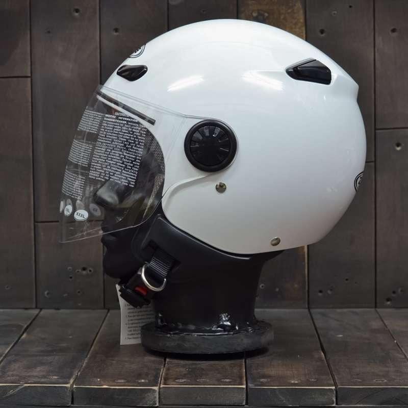 Mũ Bảo Hiểm Zeus 210B Trắng 2