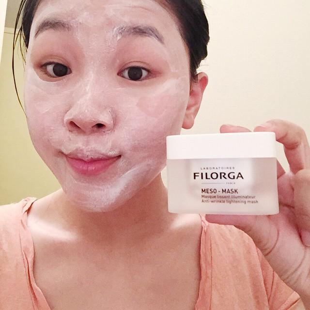 Mặt nạ cao cấp Filorga Meso Mask dưỡng và tái tạo da toàn diện