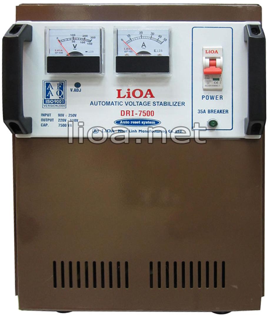 Lioa 7,5kva dải 90v-250v