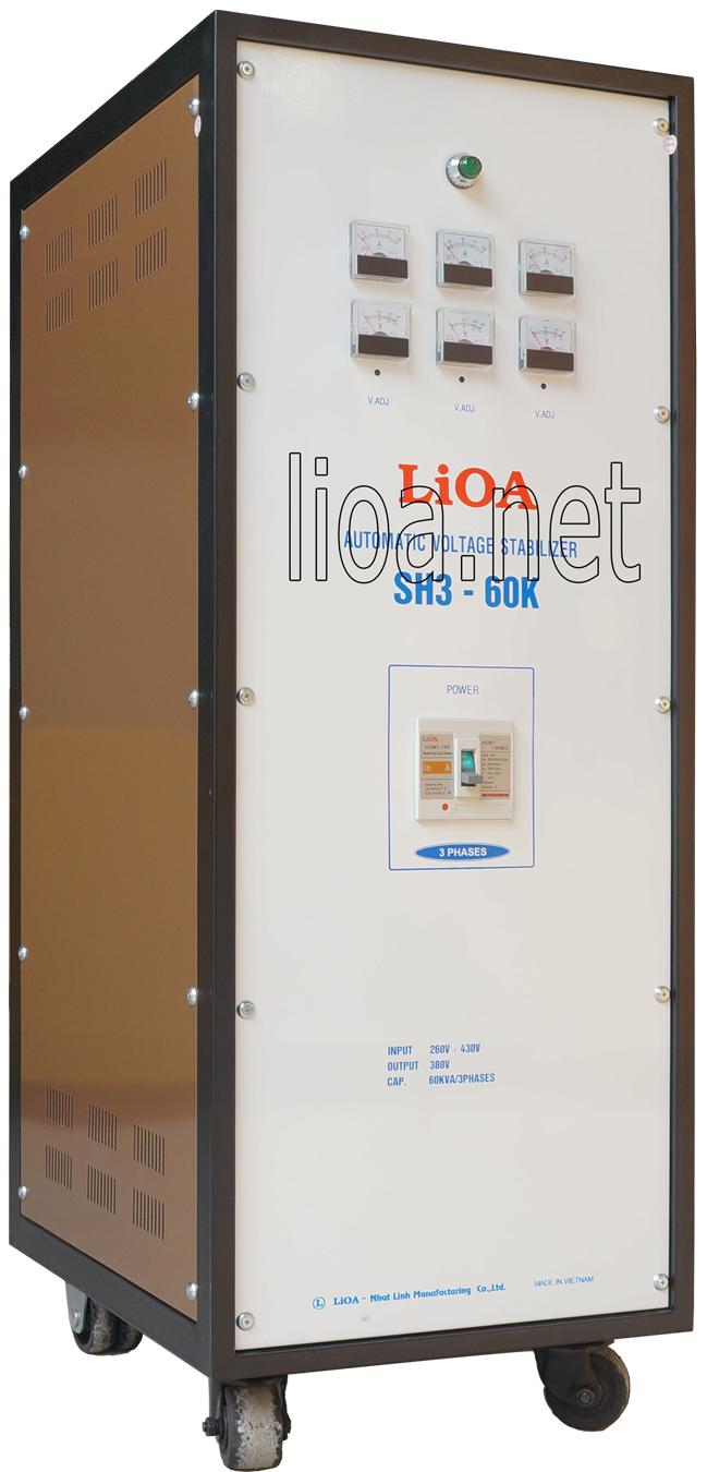 Lioa 60kva 3 pha sh3-60k