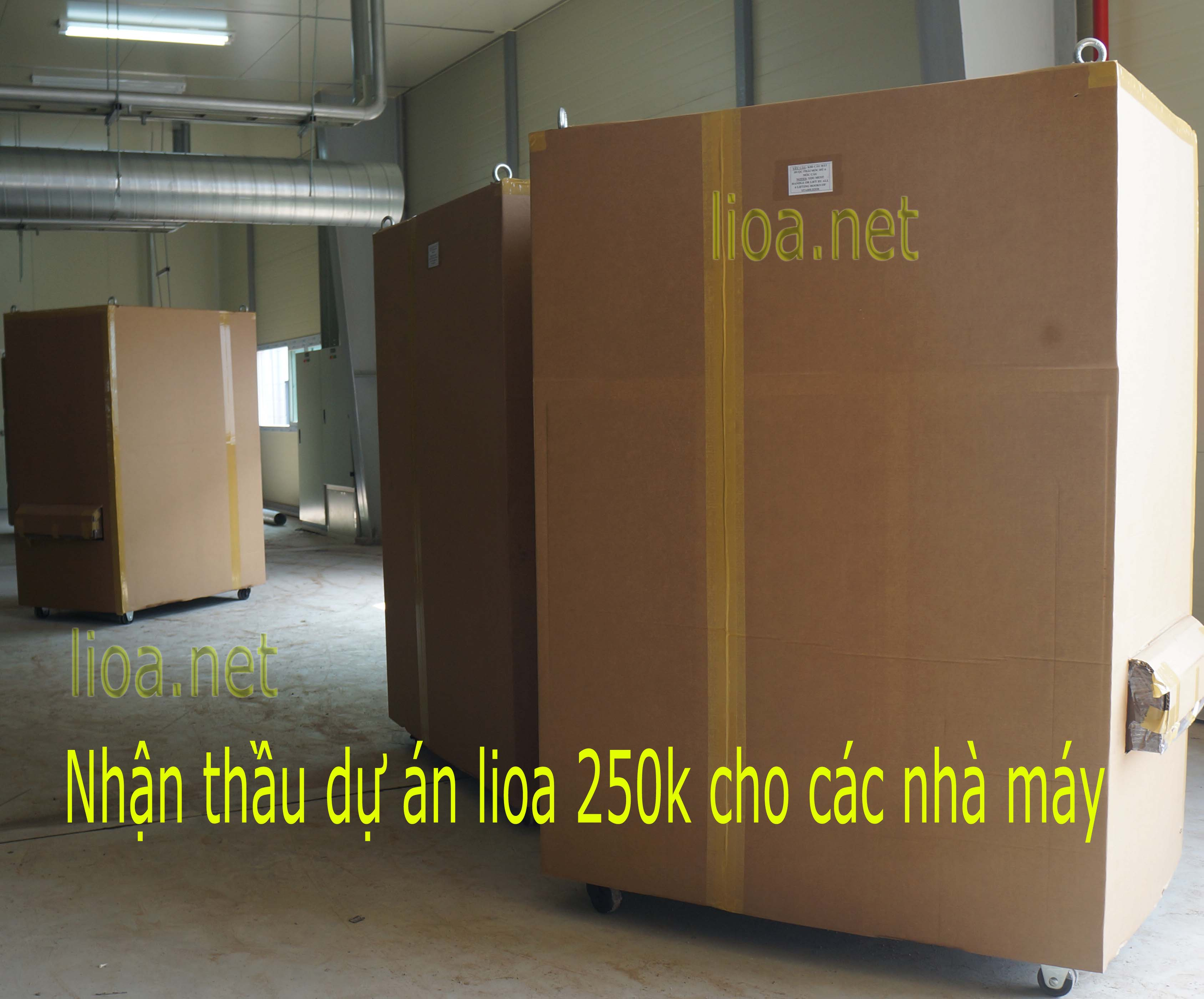 Nhan thau lioa 250k cho cac nha may