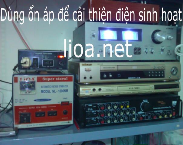 Dùng Lioa DRI-25000 Nếu Điện Qúa Yếu