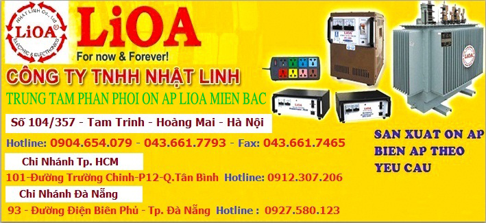 Cong ty Lioa Nhat Linh