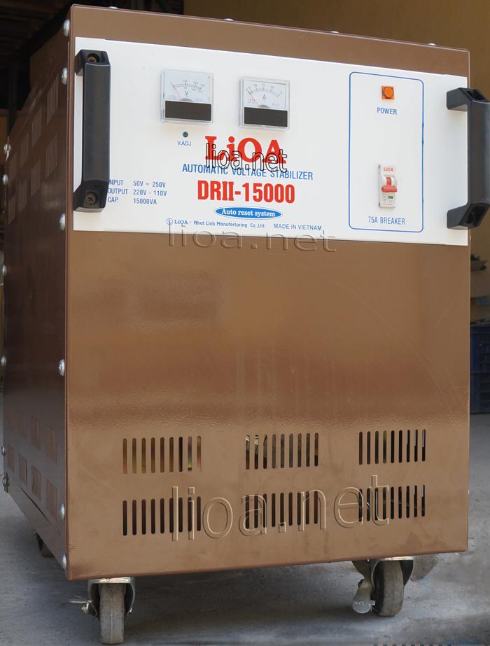 Lioa 15kva điện vào từ 50-250v