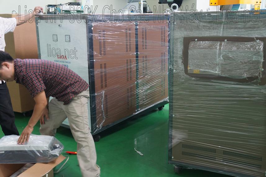 Lioa 800kVA cho các nhà máy