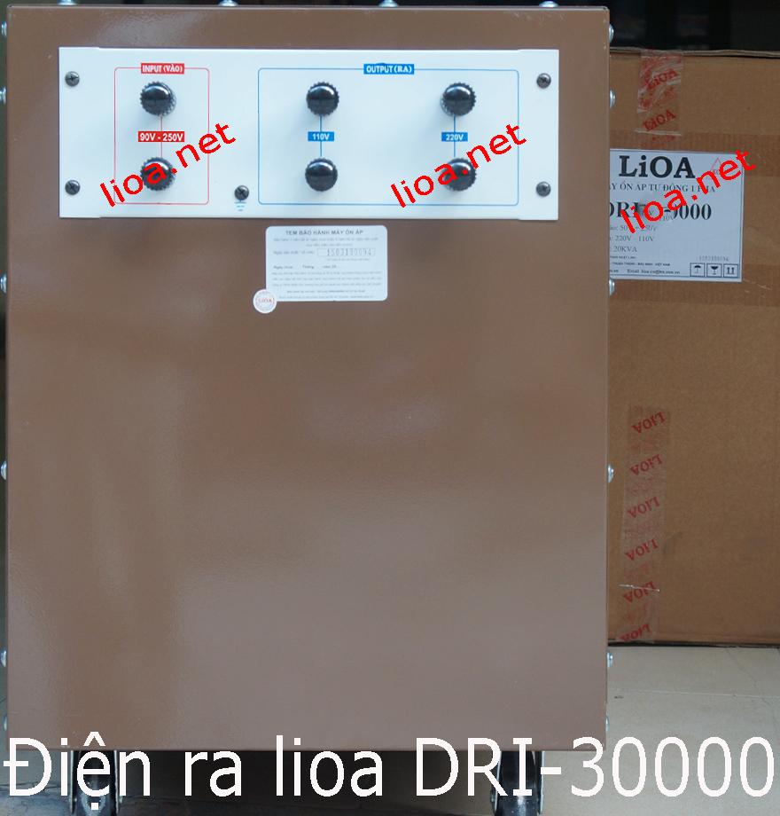 CÁCH LẮP ĐẶT LIOA DRI-30000