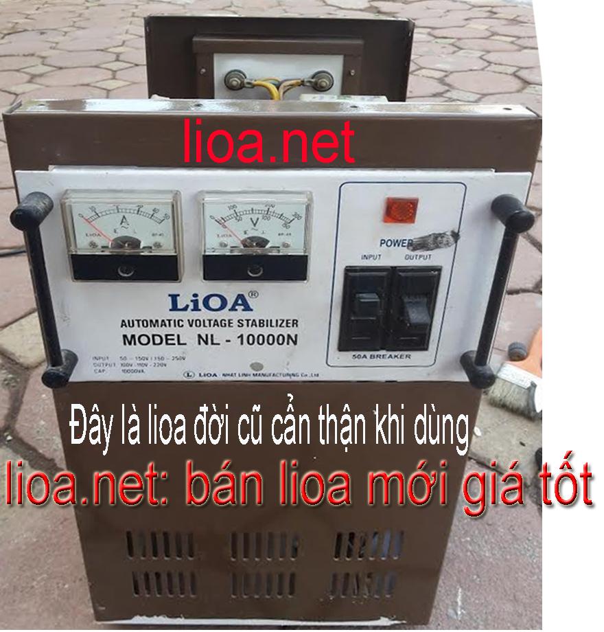 LIOA 10KVA CŨ KHÔNG NÊN DÙNG