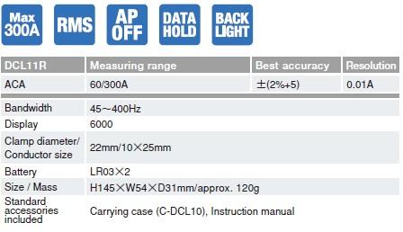 Ampe kìm AC Sanwa DCL11R