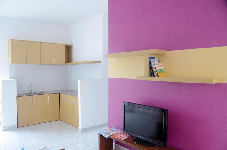 Hình ảnh Phòng bếp căn hộ Lotus