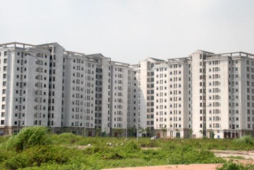 Khu tái định cư Nam Trung Yên (Cầu Giấy, Hà Nội).