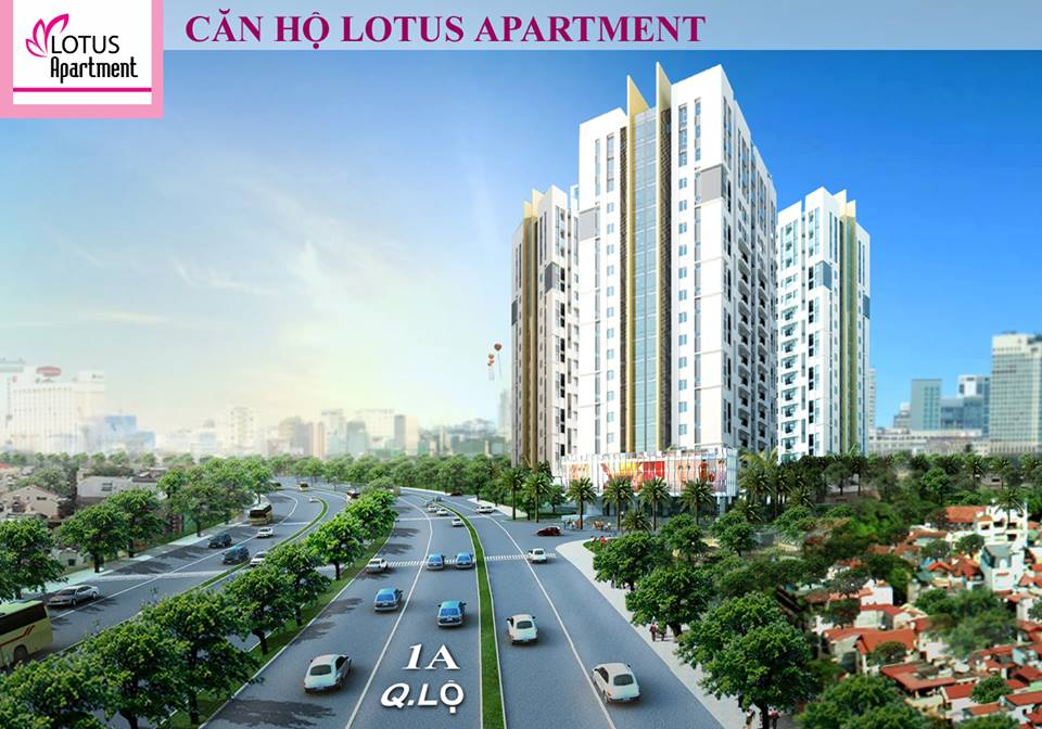 Khu căn hộ Lotus Apartment: Giải Pháp Đột Phá Về Nhà Ở