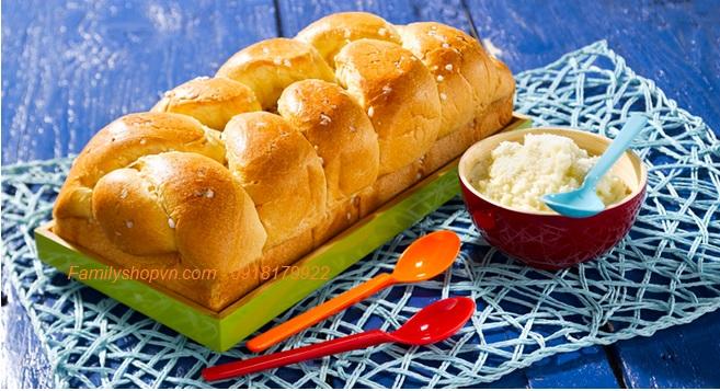 bánh mì hoa cúc pháp