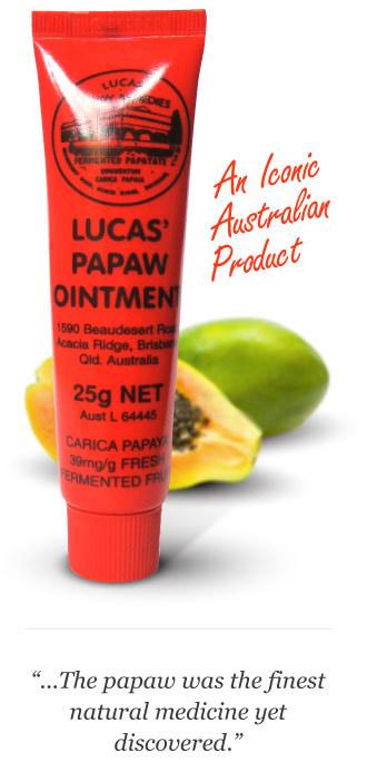 lucas papaw australia