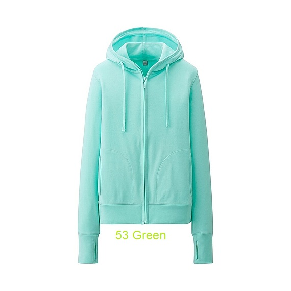 uniqlo 53 green
