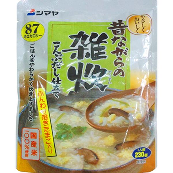 cháo ăn liền shimaya nấm, tảo bẹ