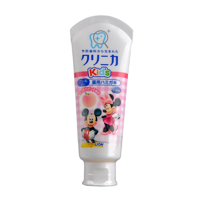 kem đánh răng Kids Lion Nhật