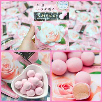 kẹo kracie hoa hồng Nhật
