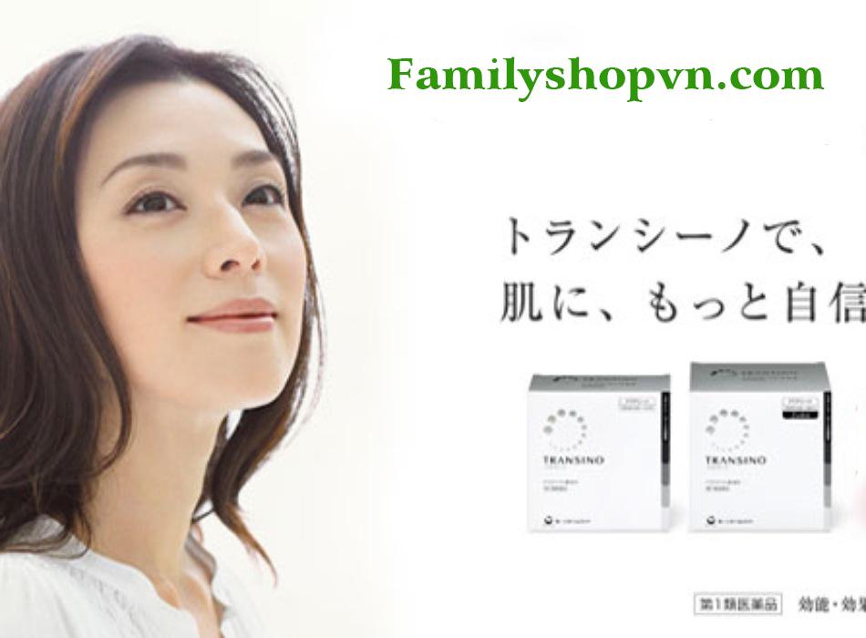 Trị nám, tàn nhang Transito Nhật
