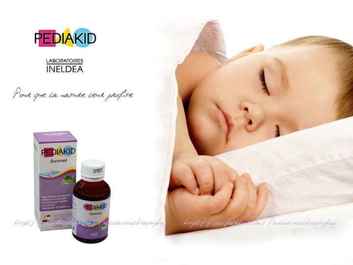 Pediakid Sommeil Đức cho trẻ ngủ ngon