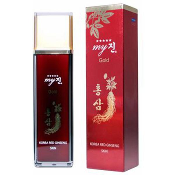Nước hoa hồng hồng sâm My Gold Hàn Quốc 8809082396108