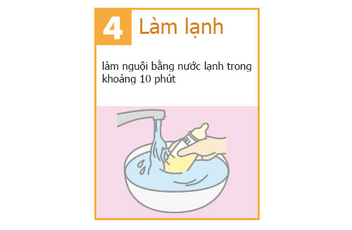 cách pha sữa meiji nhật