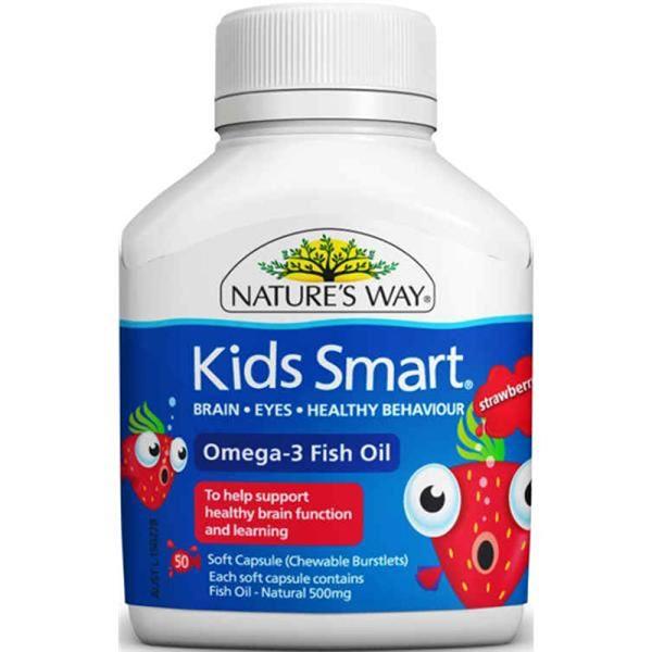Kids smart Omega 3 hàng Úc 9314807021221.