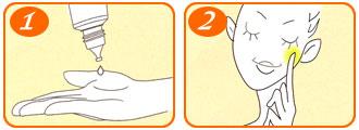 cách sử dugj serum melano cc