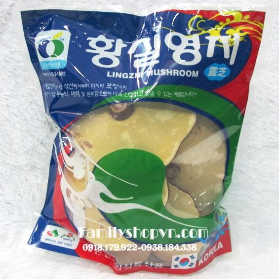 Nấm linh chi vàng túi 1kg
