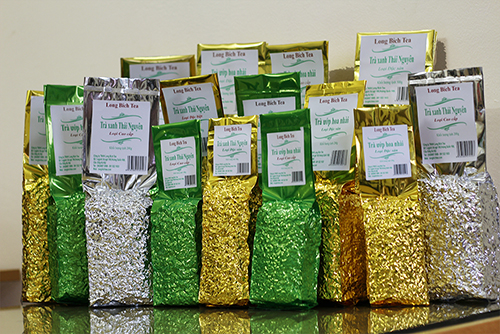 trà Xanh thái nguyên thương hiệu long bích tea
