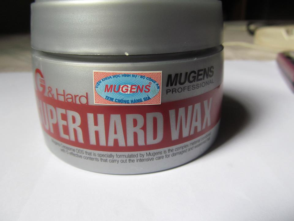 Sáp vuốt tóc Super hard wax