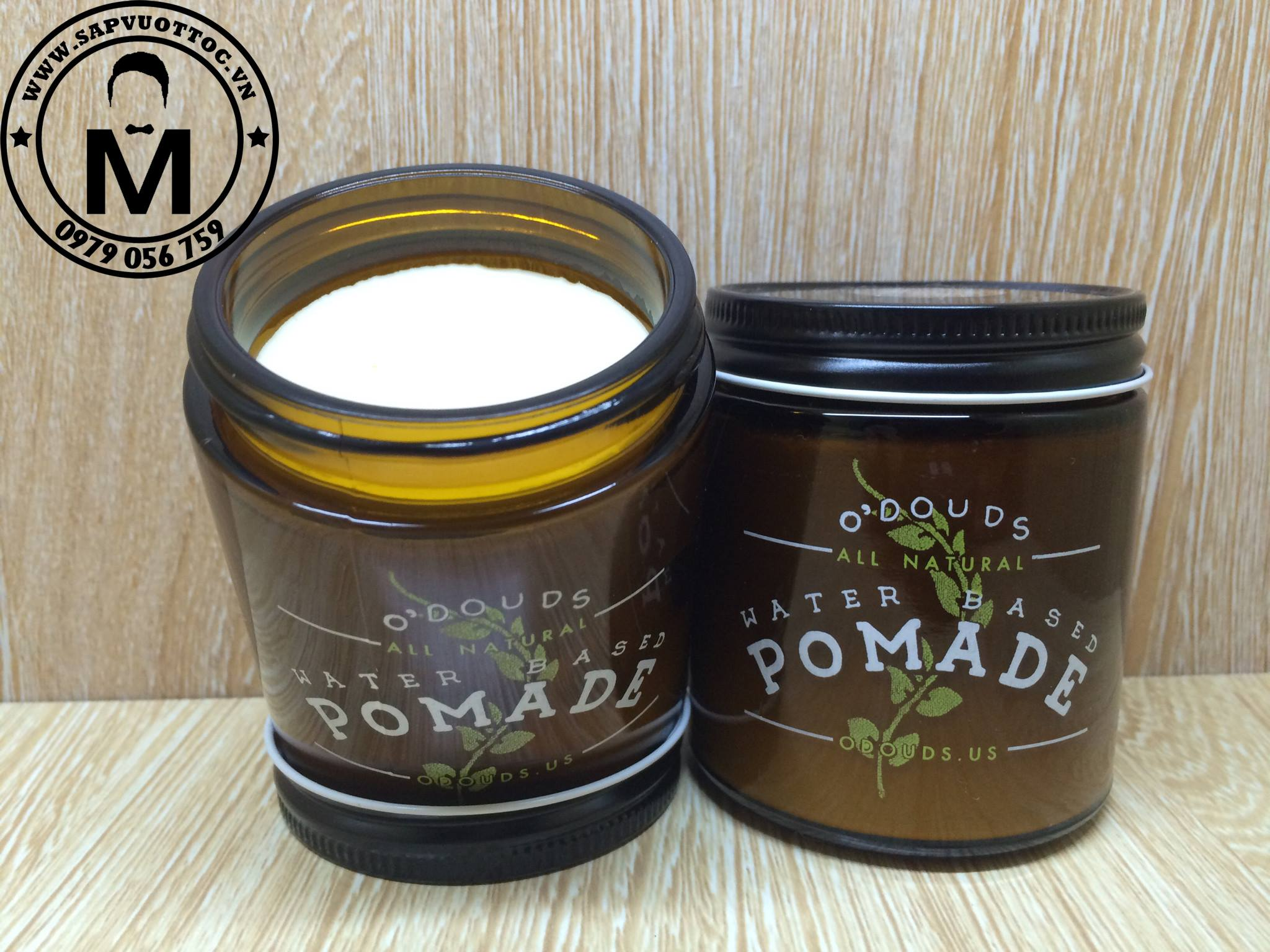 O'douds Water Based Pomade 1