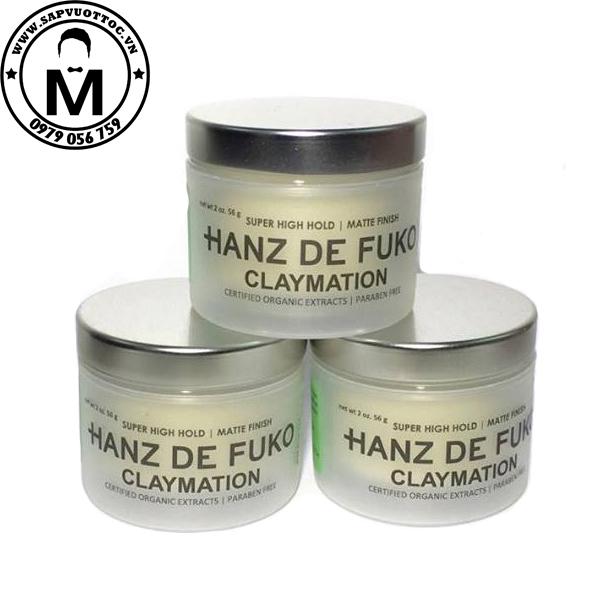 Sáp vuốt tóc Hanz De Fuko Claymation 1