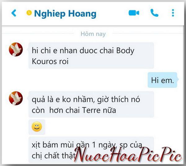 Nuoc hoa Body Kouros - Nuoc Hoa Pic Pic