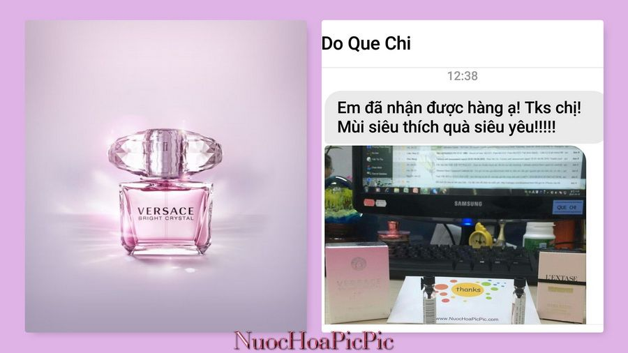Nuoc Hoa Versace Bright Crystal - Nuoc Hoa Pic Pic