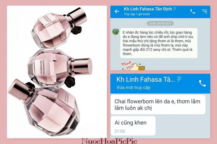 Nuoc Hoa Flowerbomb - Nuoc Hoa Pic Pic