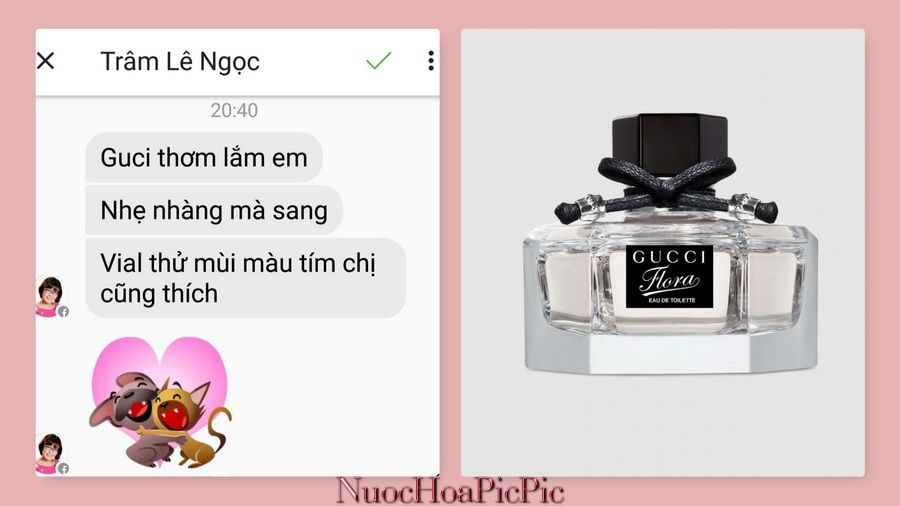 Nuoc hoa Gucci Flora - Nuoc Hoa Pic Pic