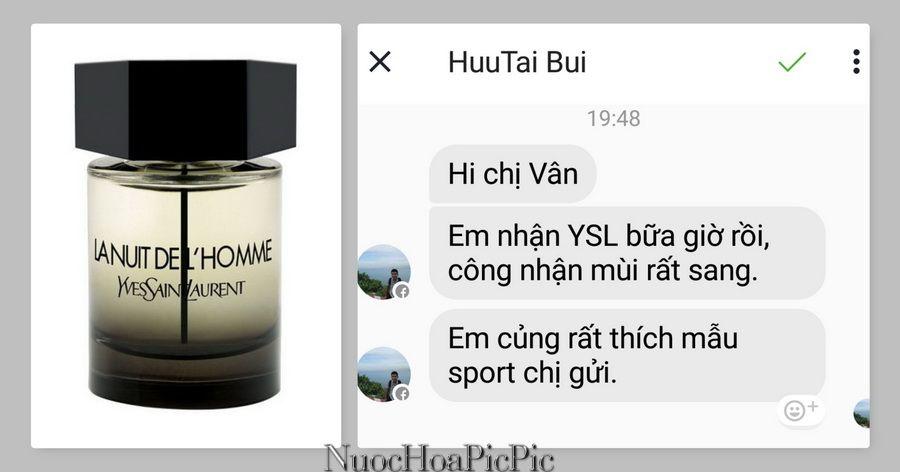 Nuoc hoa La Nuit L'Homme - Nuoc Hoa Pic Pic