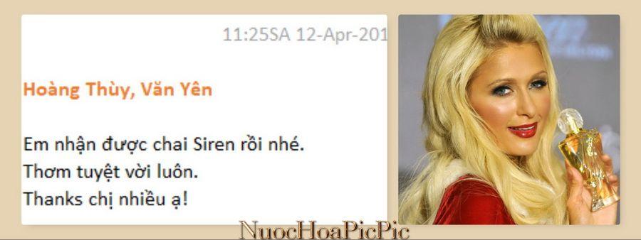 Nuoc Hoa Siren - Nuoc Hoa Pic Pic