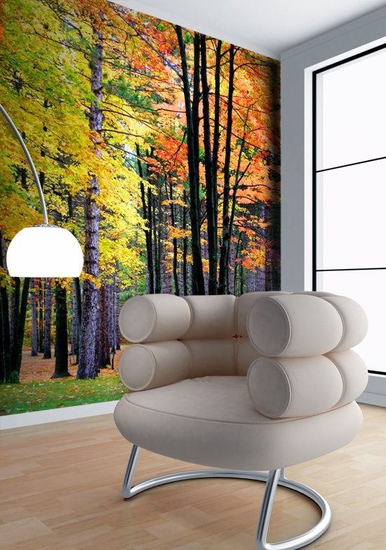 Tranh dán tường mùa thu đẹp