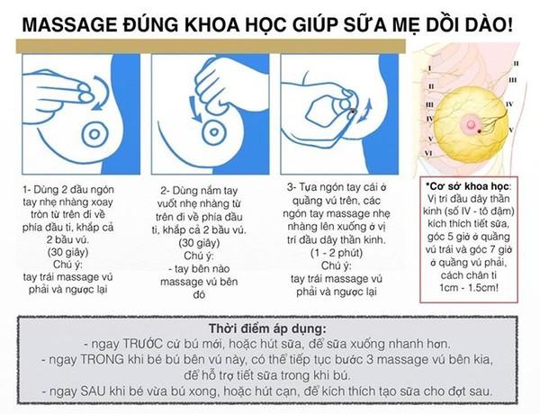 Chăm Sóc Sau Sinh - Hướng dẫn cách Xử Lý Đúng Khi Bị Tắc Sữa sau sinh-3