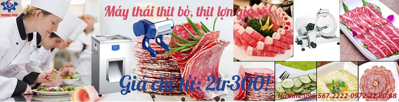 Máy thái thịt bò giá rẻ Trường Phát