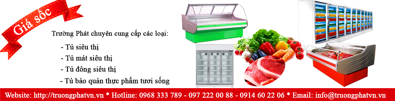 Tủ siêu thị, tủ siêu thị giá rẻ, tủ đông siêu thị