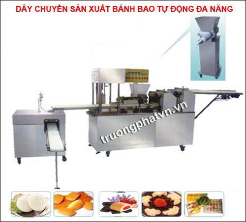 dây chuyền sản xuất bánh bao tự động đa năng