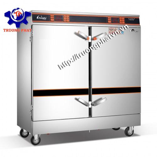 Tủ hấp giò chả 20 - 24 - 32 khay 2 chức năng điện gas