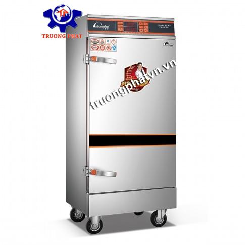 Tủ nấu cơm hấp giò chả 8-10-12 khay điện gas