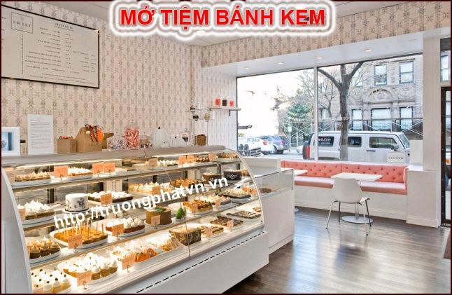mở tiệm bánh ngọt