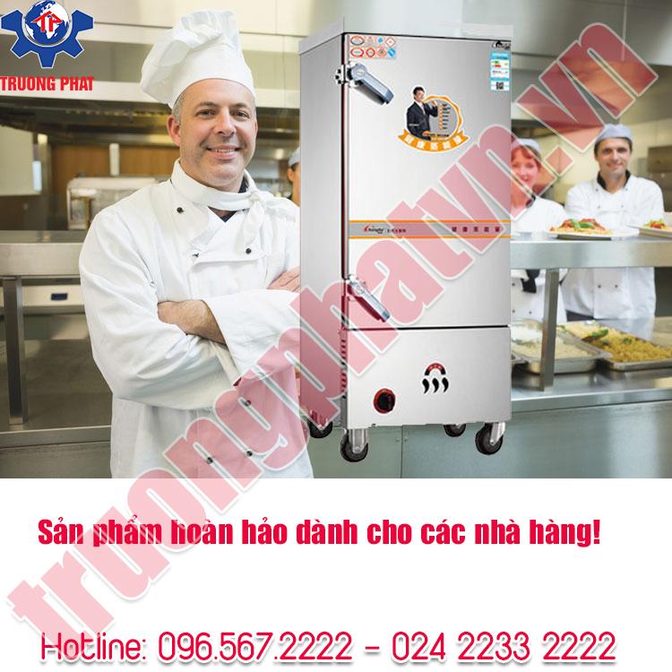 Tủ hấp thực phẩm là thiết bị không thể thiếu dành cho các nhà hàng!