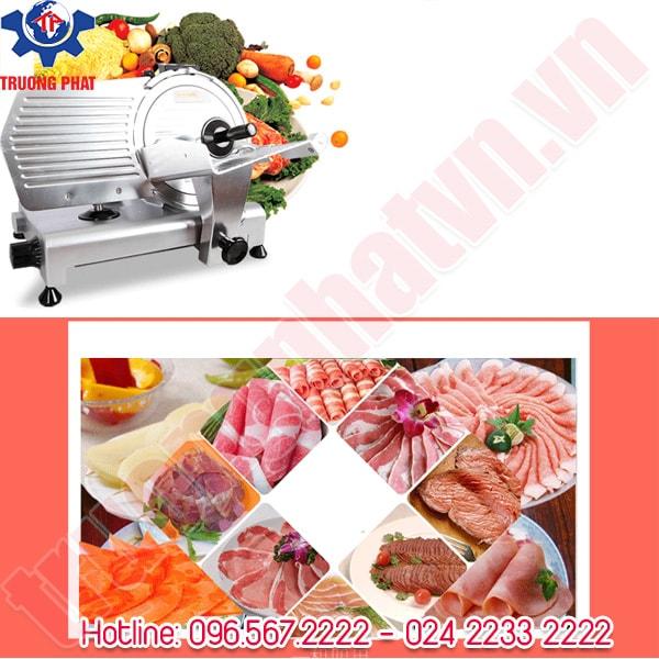 Máy thái thịt chín, thịt đông lạnh rau củ quả đa năng ES250